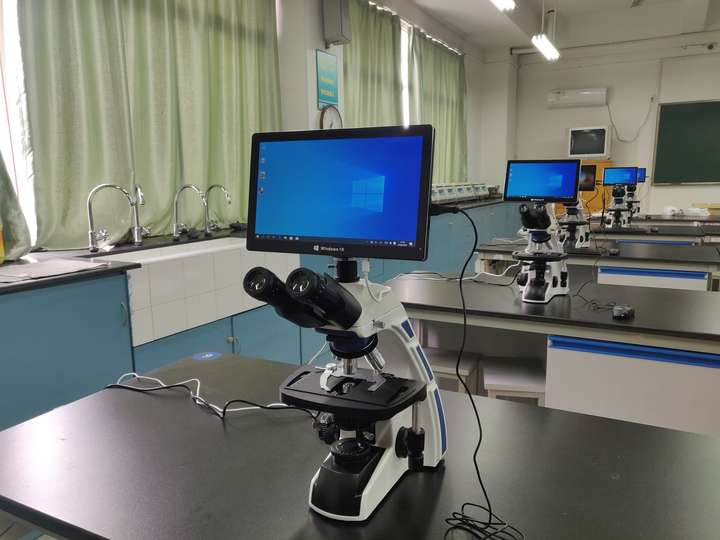 显微镜互动教学软件